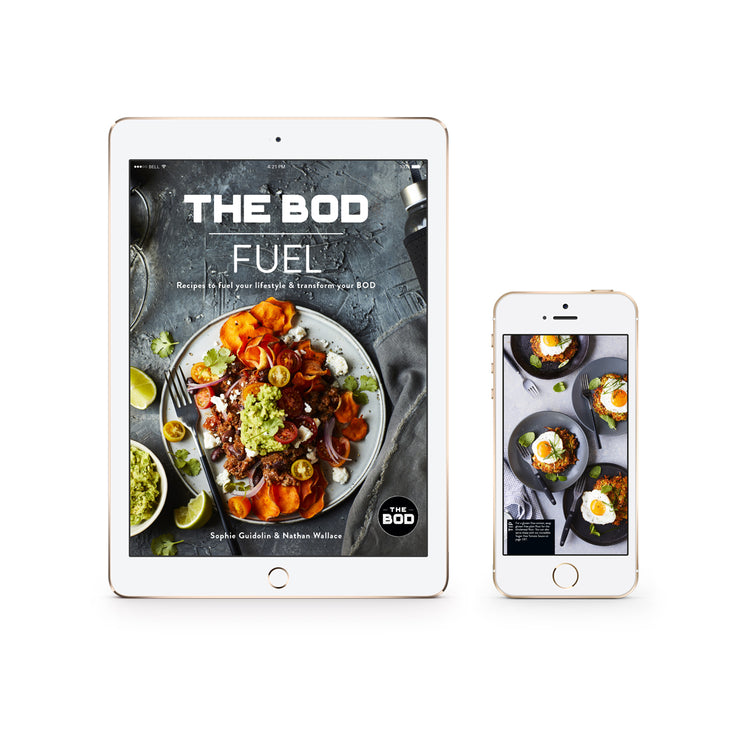 THE BOD FUEL Recipe Book - Digital Edition