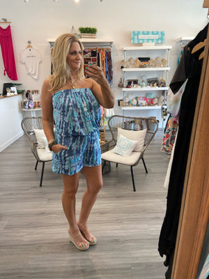 Calm Waters Romper