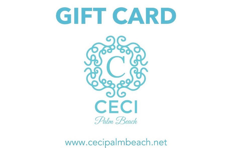 CECI Palm Beach Online Gift Card