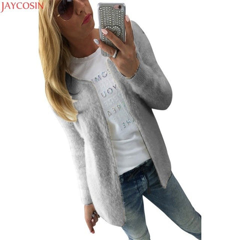 a02943bc8fc38 ... 2018 HOT Sale WT Spring Autumn Women Thin Jackets Tops Ladies Women  Fashion Warm Solid Slim Jacket