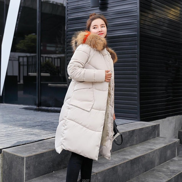 433b0bdc82f9b 2018 New Parkas Female Women Winter Coat Thickening Cotton Winter Jacket  Womens Outwear Parkas for Women Winter