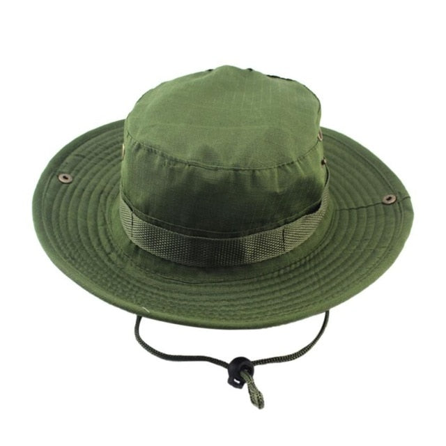 2018 Unisex Adjustable Cap Solid Boonie Hats Fisherman Hat Sun Protection  Hat Cap Dropshipping Jun 5 36368eb4eacc