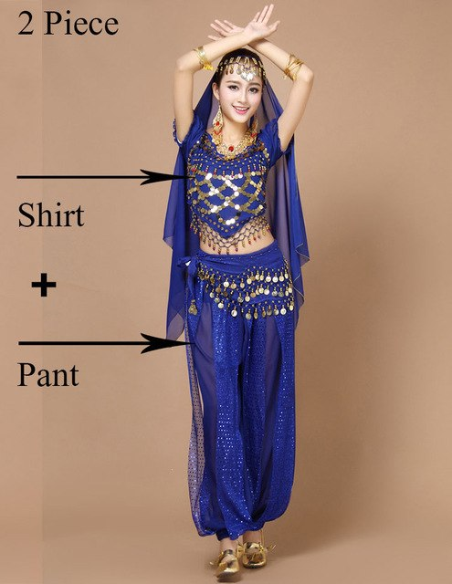 994d6a8d82 Belly Dance Costume Set Belly Dancing Costume Sets Tribal Bollywood Costume  Indian Dress Performances Bellydance Dress