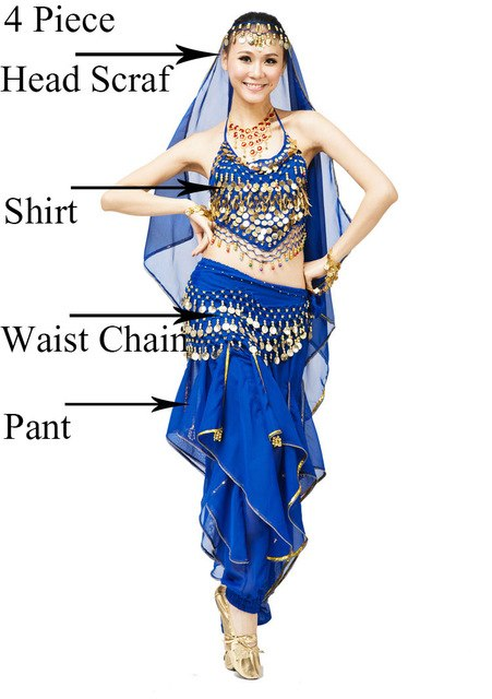 9fcd0e43b Coin Belly Dance Costumes Stage Performance Belly Dancing Tribal Gypsy  Bollywood Costume Indian Bellydance Dress Belly Dance Set