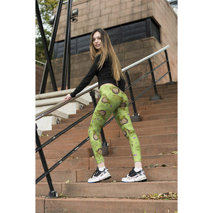 c3cd3d6512f91 Workout Pants High Waist Fitness Leggings Hedgehog 3D Print Leggins Women  Leggings Slim Trousers