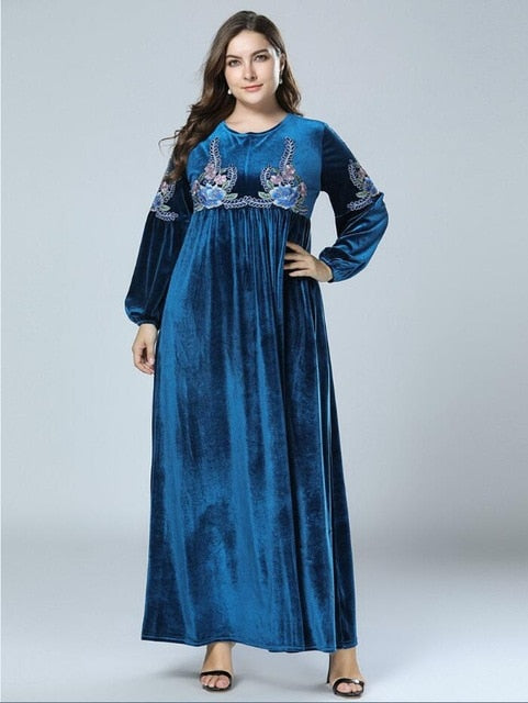 Fat Sister Plus Size 4 vintage ethnic embroidered maxi dress ...