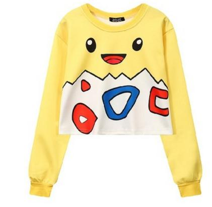 53737f8b Harajuku 3D Print Poke mon Pika chu Pokeball Charmander Togepi Jigglypuff  Squirtle Sweatshirts Fashion Long sleeve Hoodies Tops