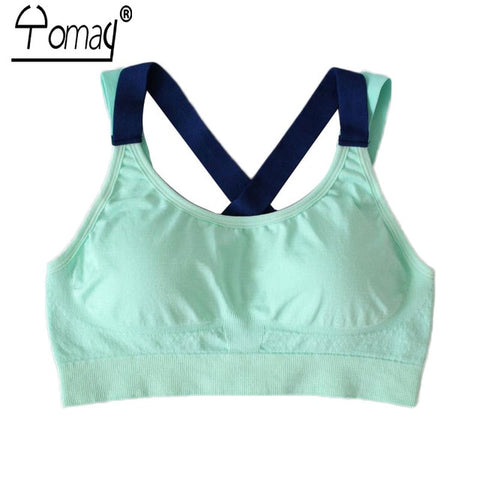 362d084bb0 Backless Women Sports Bra Yoga Running Push Up Padded Fitness Top  Adjustable Straps Athletic Vest Sport Underwear. from  17.70