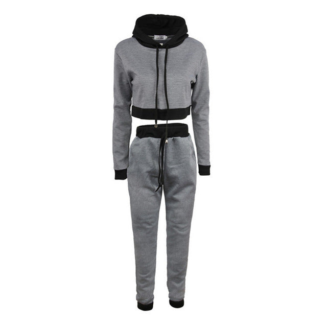 5bc04600db two piece set top and pants tracksuit women autumn matching sets plus size  outfits sweat suits