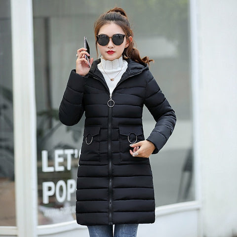 7536abe82655 winter jacket 2018 women fashion solid slim fit down jackets thick war –  Hdy Apparel