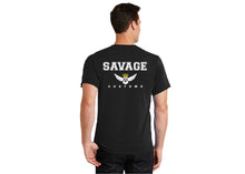 Load image into Gallery viewer, Limited Edition Savage Baseball Style Tee