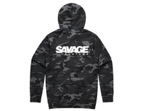 Load image into Gallery viewer, Savage Signature Grey Camo Hoodie