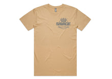 Load image into Gallery viewer, Savage Tee in Beige Silver