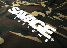 Load image into Gallery viewer, Savage Customs Unisex Signature Camo Hoodie