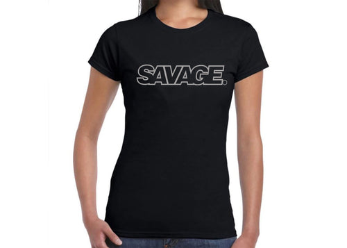 Ladies Limited Edition Savage Tee