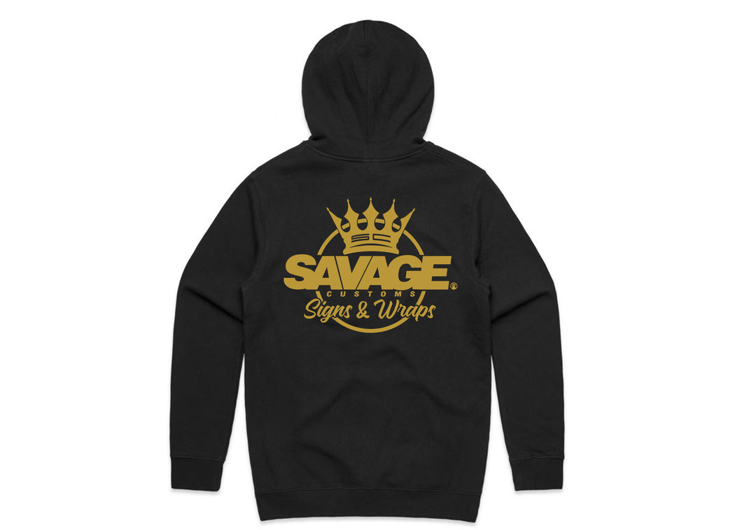 Unisex Savage Gold Hood