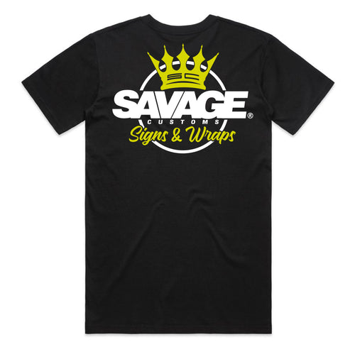 New Style Crown Logo Savage Limited Edition Tee