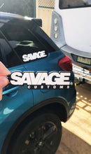 Load image into Gallery viewer, Savage Customs 3D Rubber Keyring