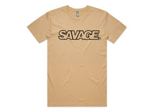 Load image into Gallery viewer, Men's Bold Savage Tee's