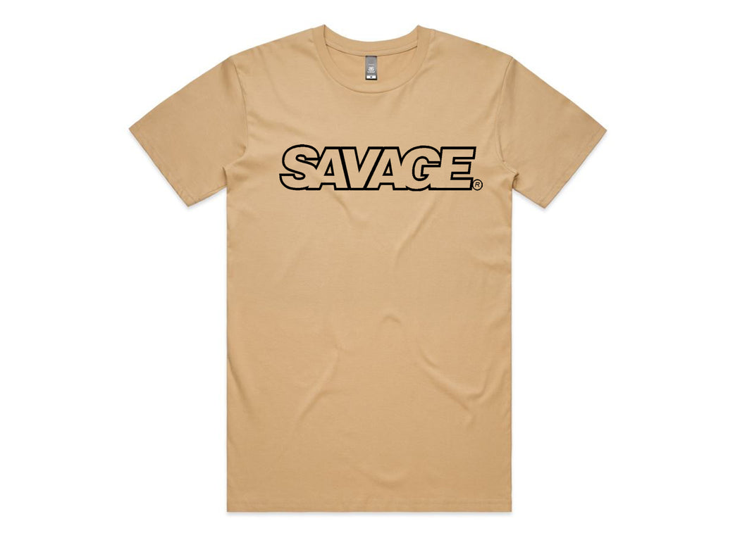 Men's Bold Savage Tee's