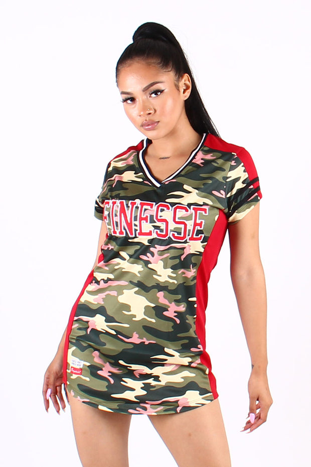 """FINESSE"" JERSEY T-SHIRT"