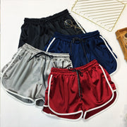 Elastic Waist Wide Loose Shorts