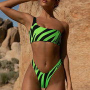 In-X Neon Green Bikinis