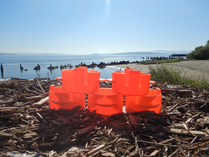 #5 Red/Green Snapper Bait Can Holders