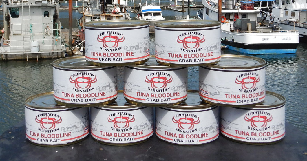 Sportman Special (9 half pound cans) of Tuna Bloodline Bait