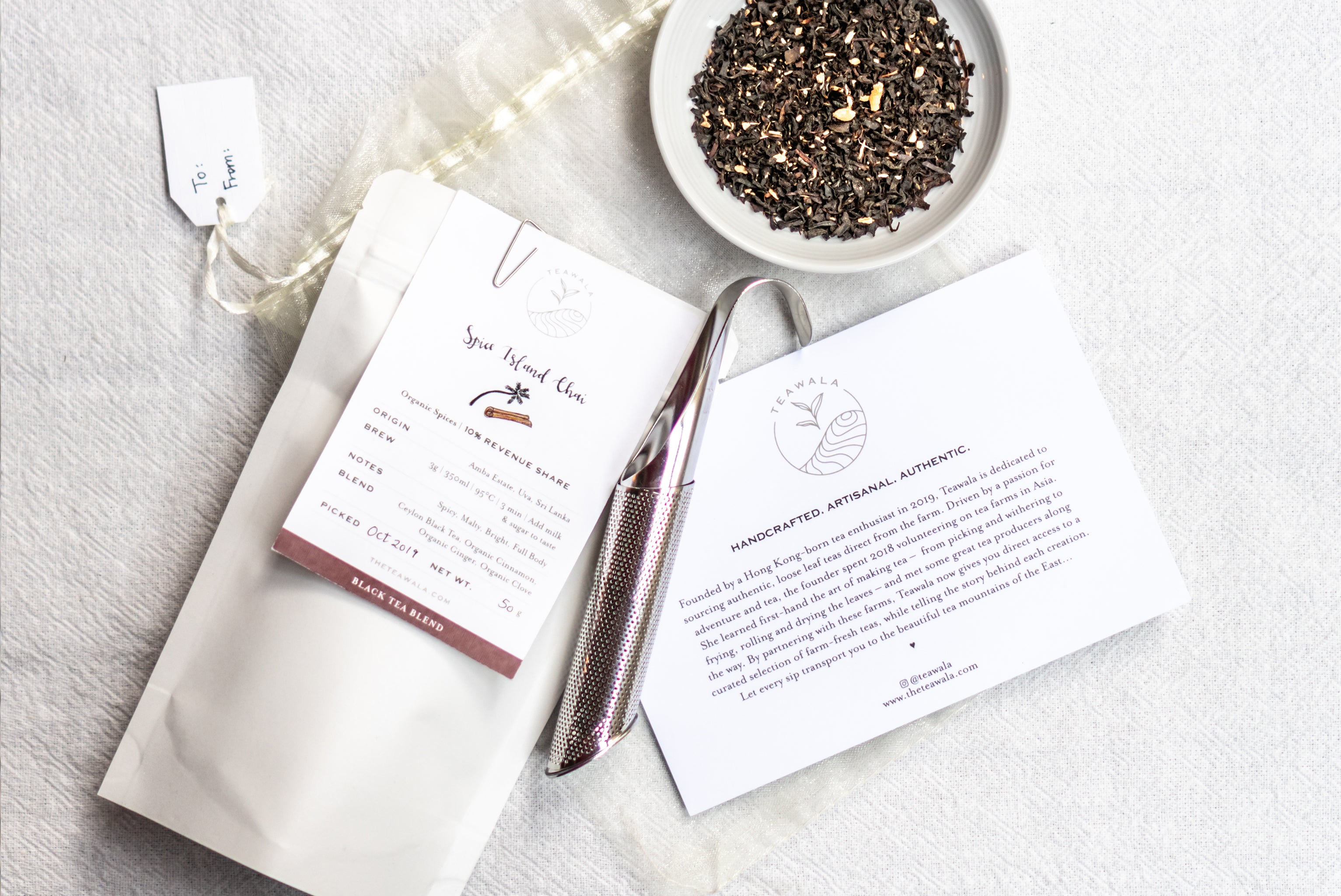 Chai & Infuser Gift Set