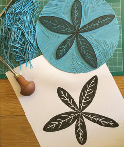 Stamp Carving/ Festive Printing Saturday 19th December 2020