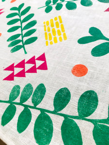 Colour Pop Linen Table Runner