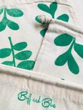 Load image into Gallery viewer, Eucalyptus Reusable Cotton Drawstring bag