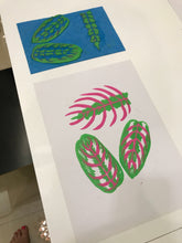 Load image into Gallery viewer, Maranta Prayer Plant print 20 x 28cm
