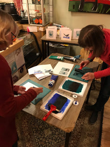 Festive Stamp Carving and Card Printing Workshop
