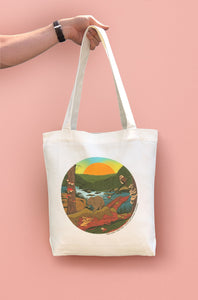 """More Forest More Fungi"" Large Tote Bag"