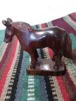 Ironwood carvings  Small Standing Horse