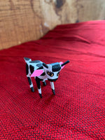 "Alebrijes; Handcrafted Oaxacan Cow; Approx 2"" Long and 1.5"" Tall"