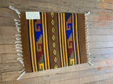 "Zapotec Handwoven Wool Placemats; Approx 19""L x 15""W"