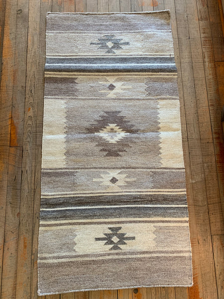 Handwoven Southwest Design Rug; Style 2000-01