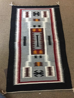 "Navajo handwoven rug artist Evelyn Watson approximately 27.5""x16.5"""