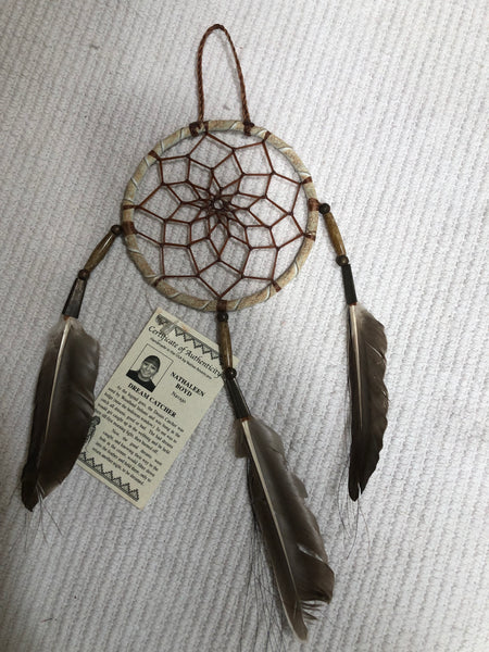 All Natural color and fiber dream catcher
