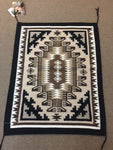 "Navajo Handwoven rug approx 30.25""x24"" artist Betty Charley"