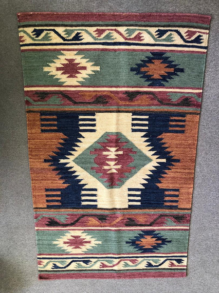 Handwoven Rugs in Southwest Designs