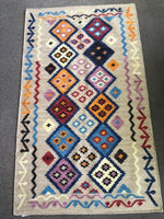 Handwoven Rugs in Southwest Designs. Wool