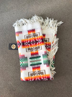 "Pendleton Baby Shawl Ivory Chief Joseph Design 32""x44"""