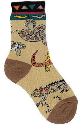 Socks with snakes