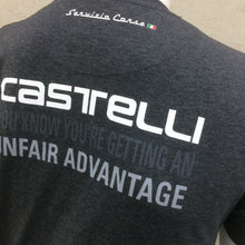Load image into Gallery viewer, T-SHIRT : Castelli Advantage Men's T Shirt [M] *48