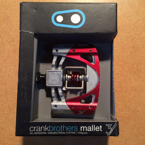 PEDALS: Crank Brothers Mallet 3 Flat Pedals