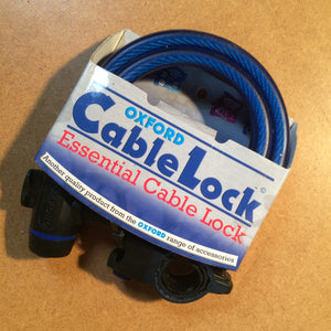 LOCK : Oxford Cable and Key Lock [3keys] *12